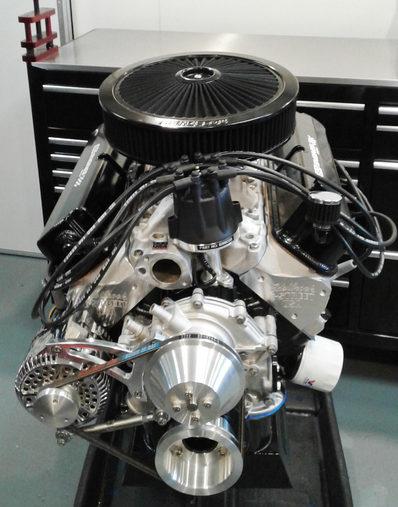 Ford Australia Engines 347 Windsor Mustang 302 289
